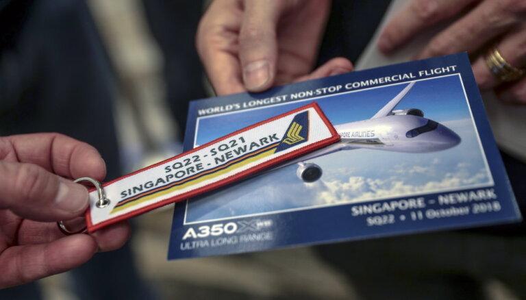 ВИДЕО: Singapore Airlines выполнила самый протяженный в мире регулярный рейс