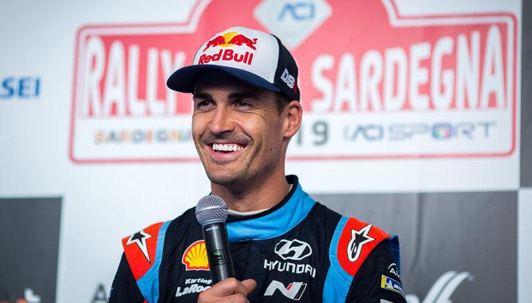 Sordo pagarina līgumu ar WRC komandu 'Hyundai'