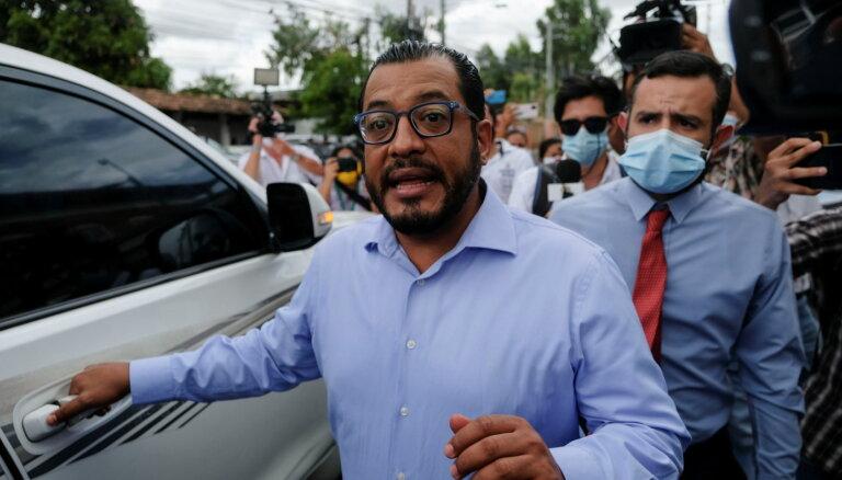 Nikaragvā arestēti divi potenciālie prezidenta amata kandidāti