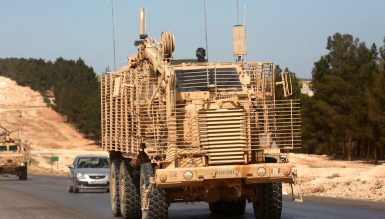 ASV uz Sīrijas-Turcijas robežas būvēs novērošanas posteņus