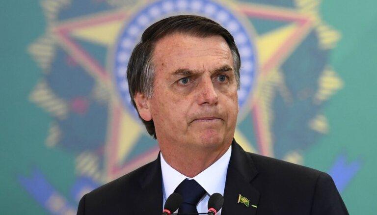 Bolsonaru atsakās no ieceres par ASV militāro bāzi Brazīlijā