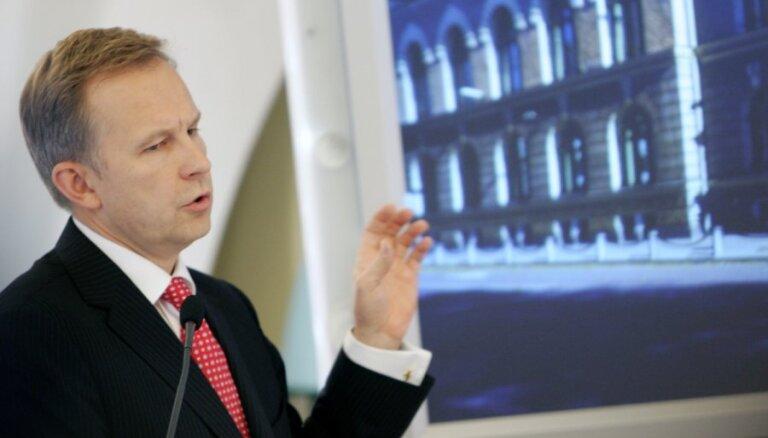 Rimšēvičs: Latvija neieviesīs eiro, ja eiro pret latu būs vērtīgāks nekā tagad