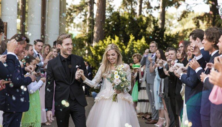 Apprecējies pasaulē populārākais 'jūtūberis' – vlogeris 'PewDiePie'