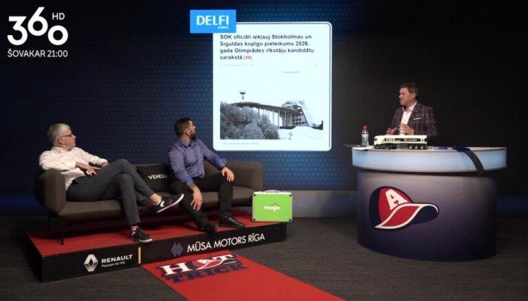 Video: 'Hattrick' vadītāji pēta, kā Zviedrijas iekšpolitika ietekmē Siguldas iespējas uzņemt Olimpiādi