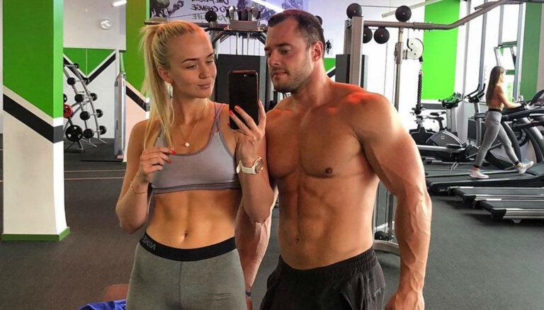 Pāris, kurš iedvesmo: fitnesa skaistuļi Pēteris un Paula