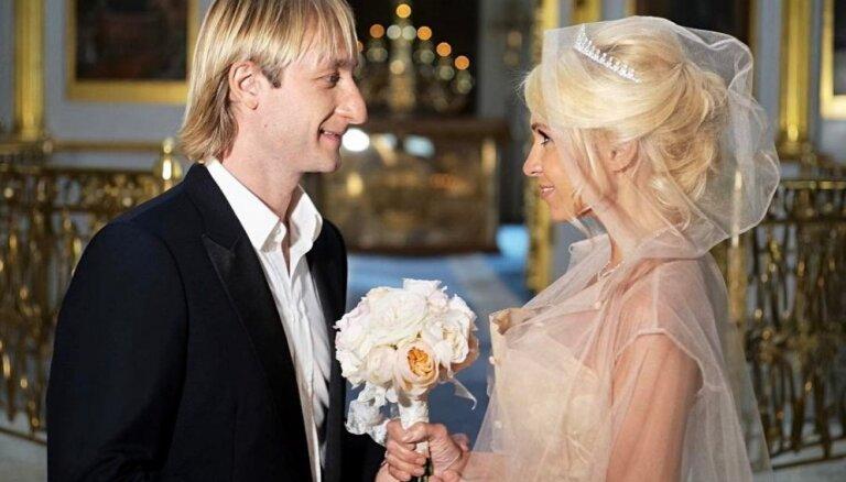 ФОТО, ВИДЕО: Венчание Яны Рудковской и Евгения Плющенко. Как это было
