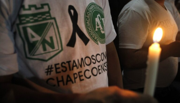 'Chapecoense' futbola komandas aviokatastrofu, visticamāk, izraisīja degvielas trūkums