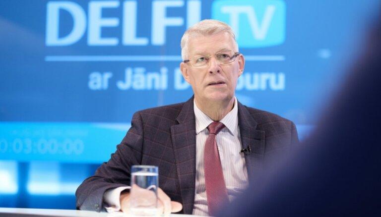 'Delfi TV ar Jāni Domburu' – atbild Valdis Zatlers. Pilns sarunas teksts