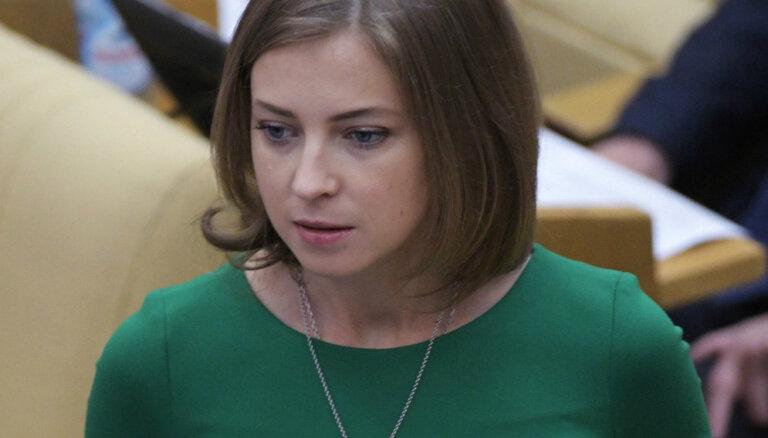 Депутат Госдумы Наталья Поклонская заявила на актера Алексея Панина в полицию