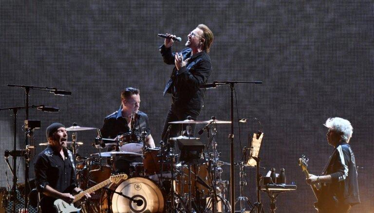 Grupa U2 ziedojusi desmit miljonus eiro cīņai ar Covid-19 Īrijā
