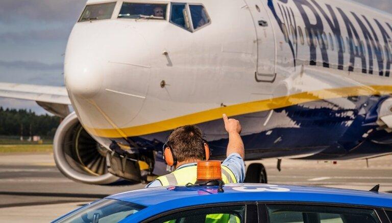"""Ryanair возобновляет полеты из международного аэропорта """"Рига"""""""