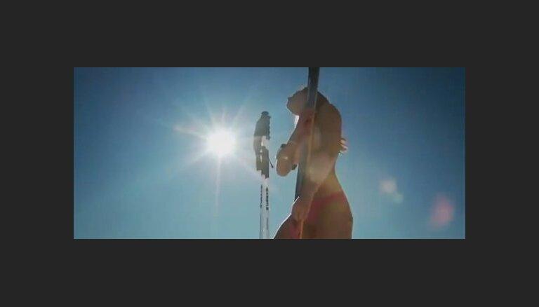 ВИДЕО: ливанская горнолыжница извинилась за эротическую съемку
