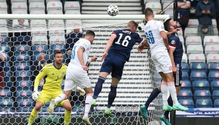 'Euro 2020' spēle: Skotija – Čehija. Teksta tiešraide