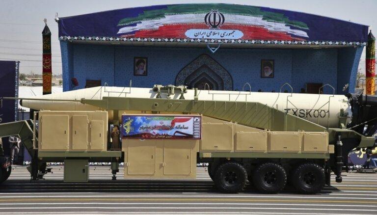 Irāna veikusi raķetes izmēģinājumu
