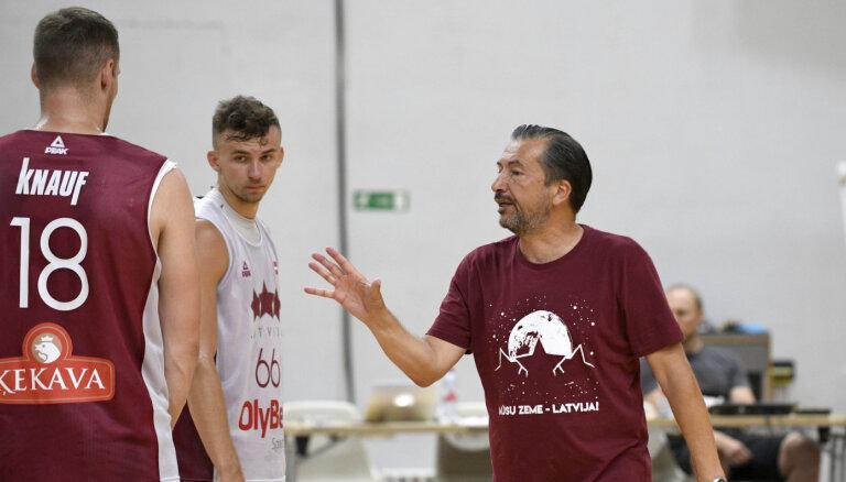 Latvijas basketbola valstsvienība atguvusi 'vecās izlases sajūtu'