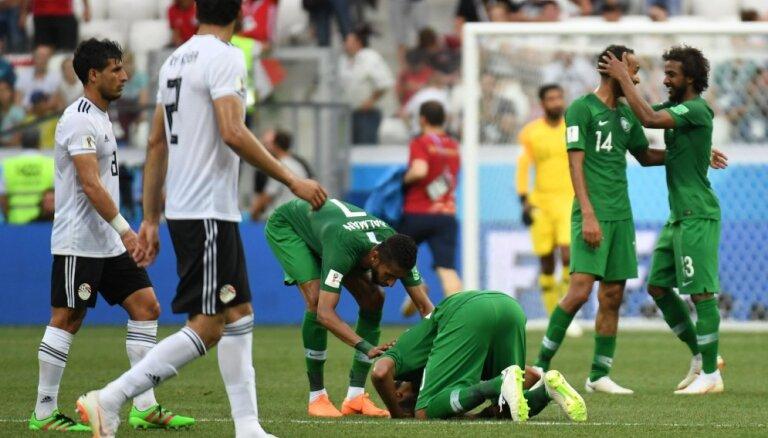 После матча сборных Египта и Саудовской Аравии на ЧМ-2018 по футболу умер телекомментатор