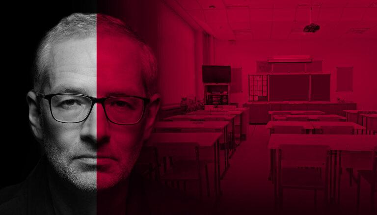Pulksten 17 'Delfi TV ar Jāni Domburu' diskusija: 'Pedagogi pret ministri: demisija un Covid-19 ierobežojumi – par un pret'
