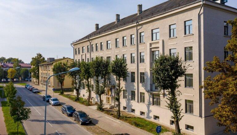 Liepājas centrā īstenots 1,6 miljonus eiro vērts dzīvokļu projekts