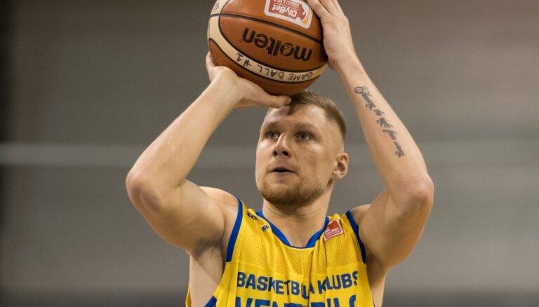 Jakovičs ar 14 punktiem sekmē 'Budiveļņik' uzvaru Ukrainas kausā