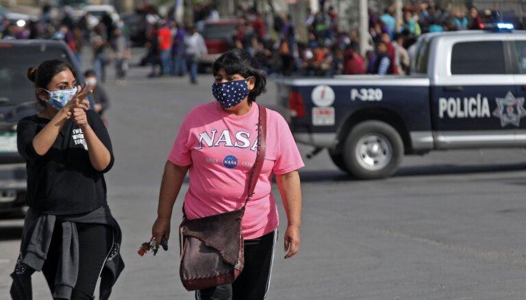 Covid-19: Meksika nespēj atturēt narkokarteļus no palīdzības piegādāšanas iedzīvotājiem