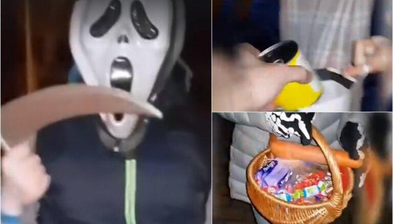 Pašmāju interneta hits: puisis Liepājā sirsnīgi izjoko saldumu diedelētājus