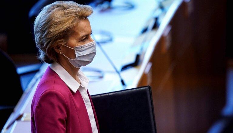 Глава Еврокомиссии потребовала новых санкций для Белоруссии
