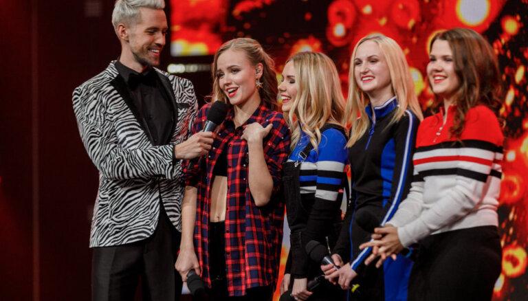 Pusfināla priekšvakarā šovu 'X Faktors' pamet grupa 'Carnelian'