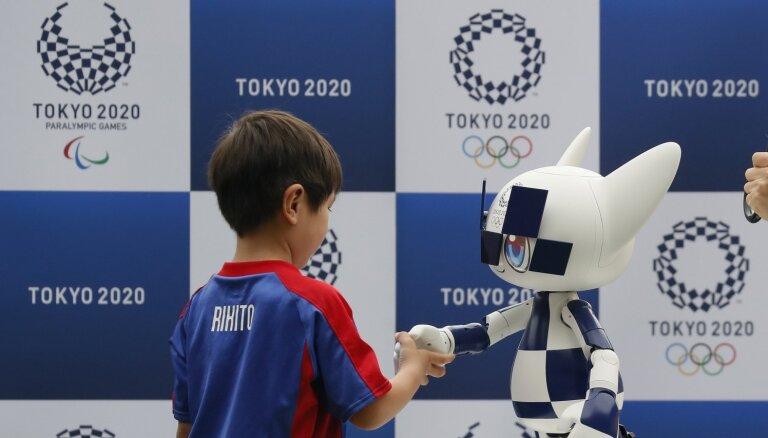 Tokijas olimpiskajās spēlēs skatītājus apkalpos dažādi roboti