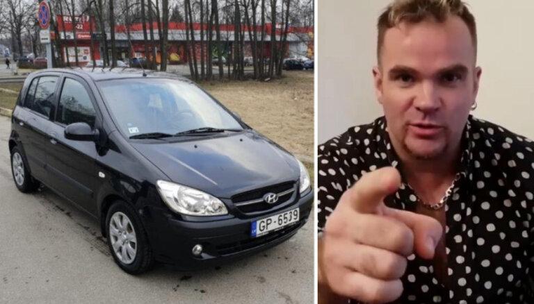 Andris Kivičs ar atraktīvu sludinājuma tekstu mēģina pārdot 'Hyundai' auto