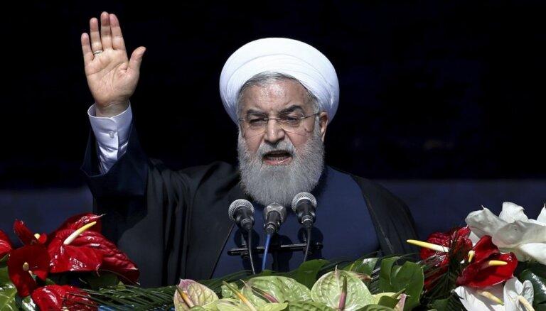 Irānas prezidents aicina tautu uz 'vienotības gadu'