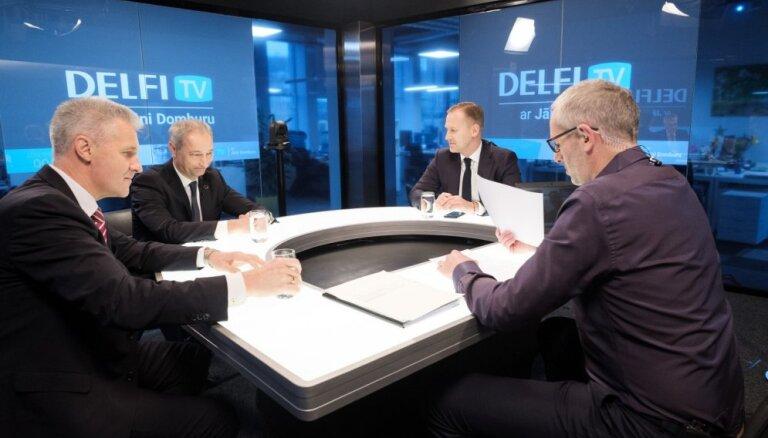 'Delfi TV ar Jāni Domburu' atbild Gobzems, Bordāns un Pabriks. Diskusijas teksts