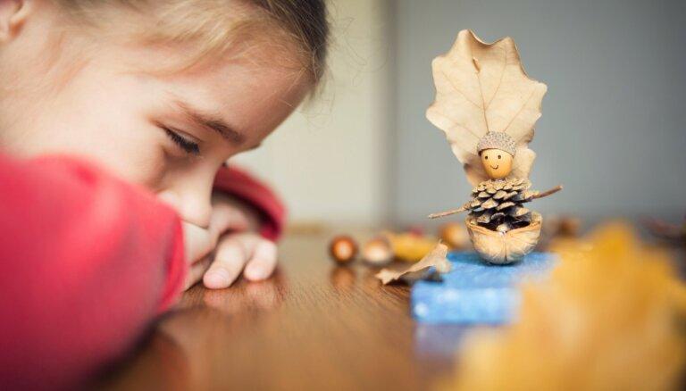 Izbaudīt rudeni ar pilnu krūti: radošas un stresu mazinošas nodarbes bērniem