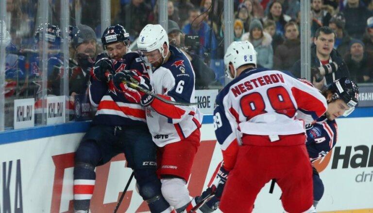 Hārtlija 'Avangard' Gagarina kausā spēlēs pret CSKA