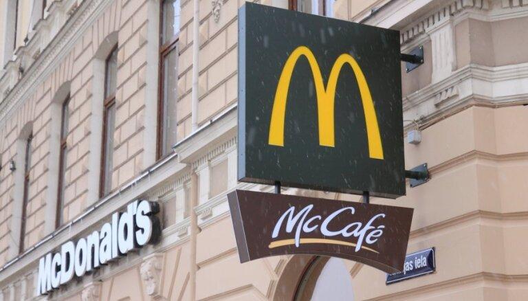 'McDonald's': mūsu lielākais konkurents ir mājās gatavots ēdiens