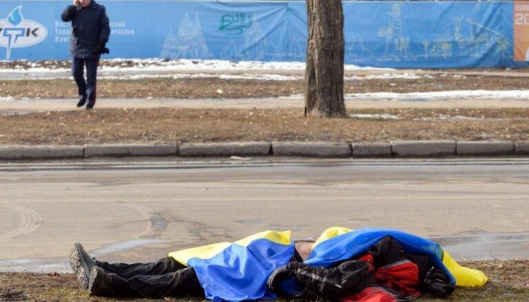 Harkovas teroraktu par 10 000 dolāru sarīkojuši trīs Ukrainas pilsoņi