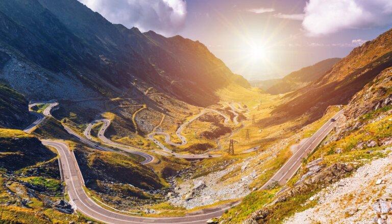 Pieci ainaviski maršruti Eiropā, kurus izbaudīt braucienā ar auto