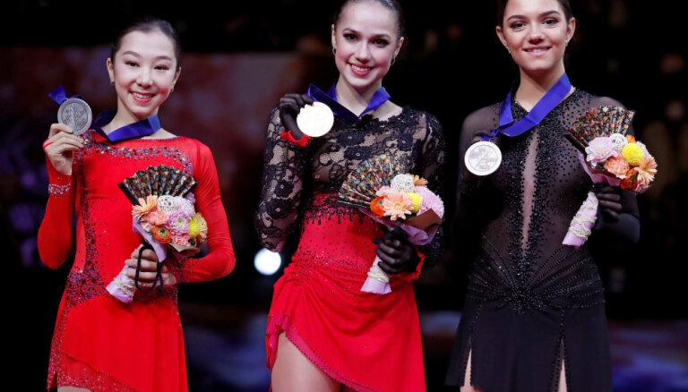 Загитова выиграла чемпионат мира в Сайтаме, у Медведевой — бронза