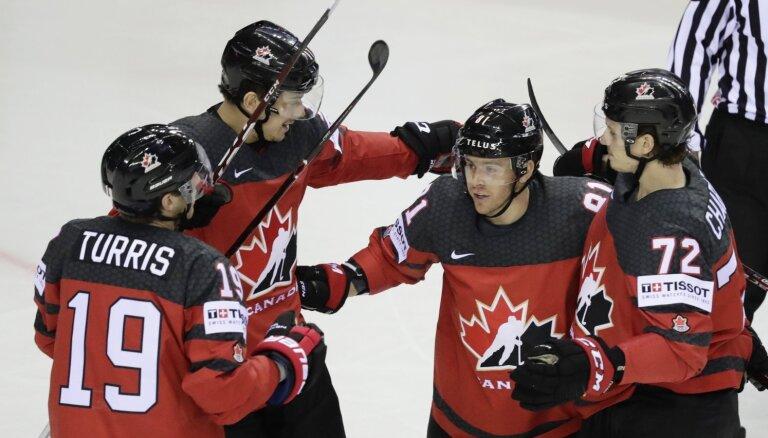 Pasaules hokeja čempionāts: 20. maija vakara spēļu apskats