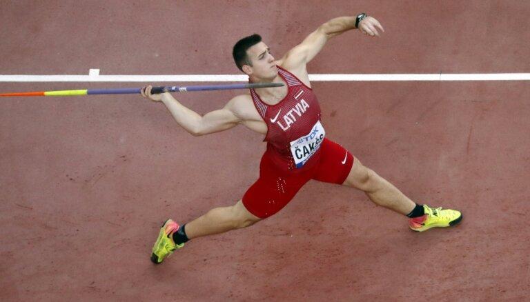 Latvijas šķēpmetēji pasaules čempionātā netiek finālsacensībās