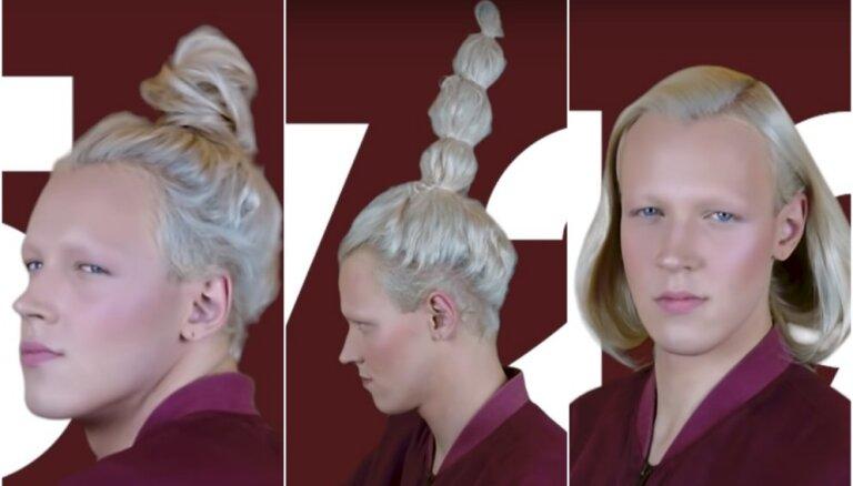 100 frizūras Latvijas simtgadei: Rojs Rodžers asprātīgi godina valsts jubileju