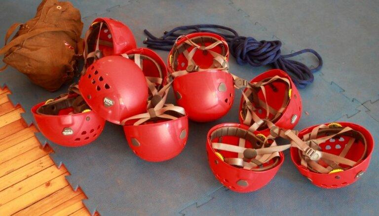 Piektdien Dobeles tirgus laukumā izcēlies paaugstinātas bīstamības ugunsgrēks