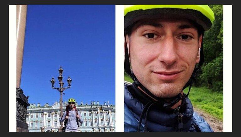 10 стран за 90 дней на роликах: в Ригу приехал RollerMan — Роберт Мартиросян