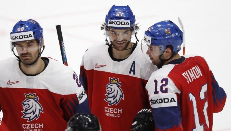 Pasaules hokeja čempionāts: Austrija – Čehija, Vācija – ASV. Teksta tiešraide