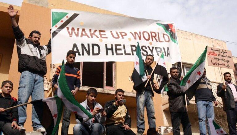 Латвия одобряет резолюцию Генассамблеи ООН по Сирии