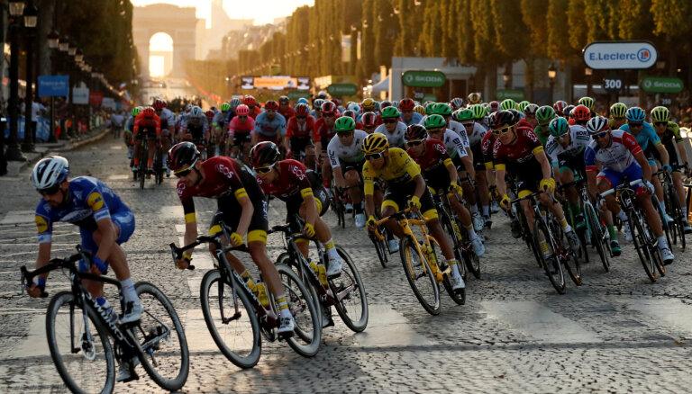 'Tour de France' varētu notikt bez skatītāju klātbūtnes