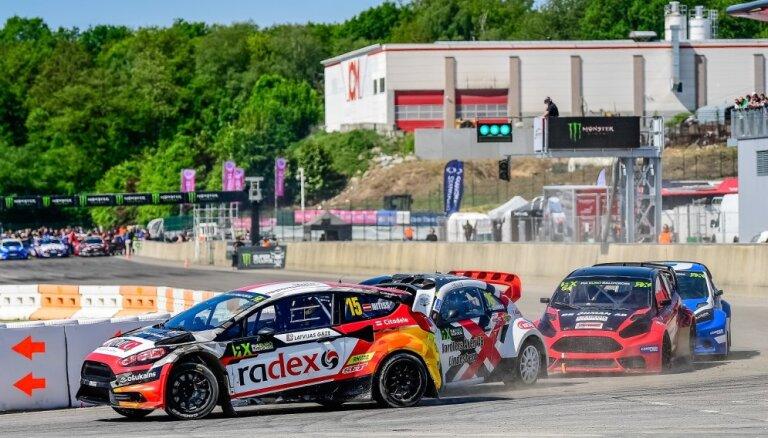 Rallijkross Beļģijā: 'World RX' kvalifikācijā Baumanis 15. vietā, bet Nitišs 'Euro RX' – otrajā