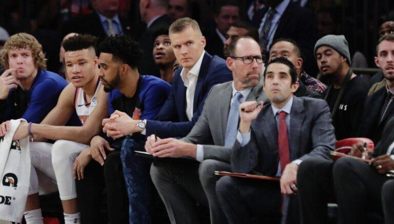 Porziņģa atgriešanās paātrinās 'Knicks' pārbūves procesu, uzskata Fizdeils