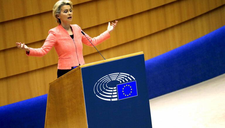 ES līderi aicina nevajadzīgi neceļot; brīdina par iespējamiem stingrākiem ceļošanas ierobežojumiem