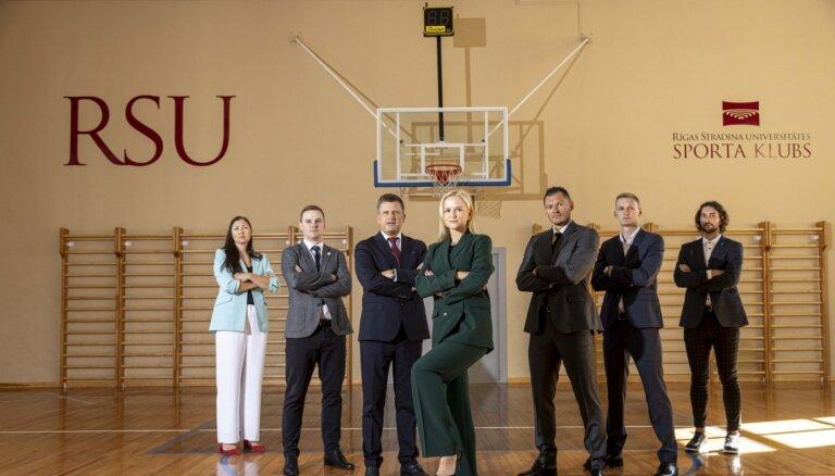 RSU basketbola komandas trenēs Rožlapa un Zeids