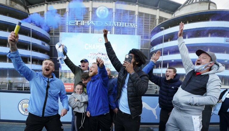 'Manchester City' neklātienē triumfē Anglijas premjerlīgā